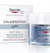 EUC ULTRA SENSITIVE Q10X NIGHT CREAM 50CC  0